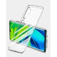 Накладка силикон Faison для Xiaomi Redmi Note 10 PRO прозрачная глянцевая