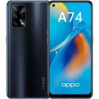Смартфон OPPO A74 4/128Gb (Чёрный) RUS