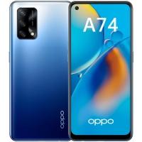 Смартфон OPPO A74 4/128Gb (Синий) RUS