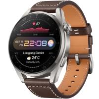 Смарт-часы Huawei Watch 3 Pro LTE Коричневый