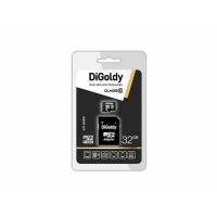 Карта памяти DiGoldy Micro SDHC Class10 32Gb с адаптером