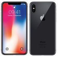 Apple iPhone X 256GB восстановленный Space Gray RUS (новый, замененный)