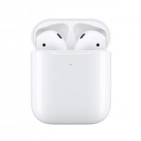 Беспроводные наушники Apple AirPods 2 (беспроводная зарядка чехла) RUS
