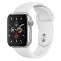 Часы Apple Watch Series 5 GPS 44mm Aluminum Case with Sport Band Silver