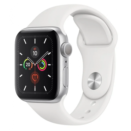 Часы Apple Watch Series 5 GPS 44mm Aluminum Case with Sport Band Silver RUS