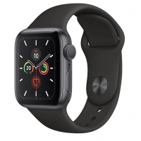 Apple Watch Series 5 GPS 40mm Aluminum Case with Sport Band Space Gray