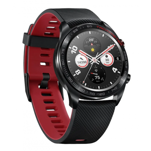 Honor Watch Magic (stainless steel, silicone strap) black
