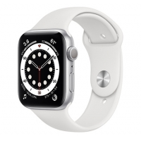 Часы Apple Watch Series 6 GPS 44mm Aluminum Case with Sport Band Silver