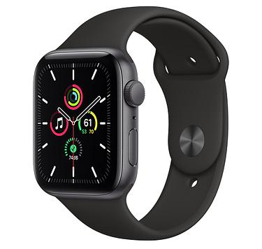 Часы Apple Watch SE GPS 44mm Aluminum Case with Sport Band (Серый космос) RUS