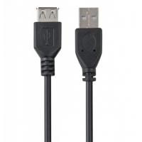 Кабель VS U518 USB мама - USB папа 1.8m Черный