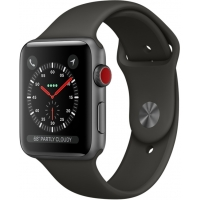 Часы Apple Watch Series 3 42mm Aluminum Case with Sport Band Black
